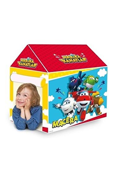 HARİKA KANATLAR Harika Kanatlar 100 X 100 X 70 Çocuk Oyun Evi Oyuncak Çadırı Renkli